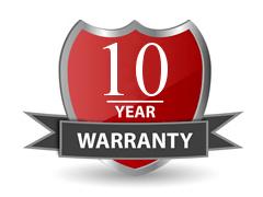 Ten Year Warranty - illustration